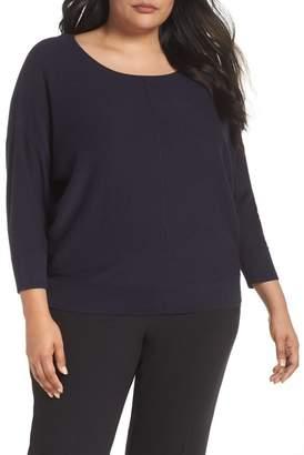 Sejour Ballet Neck Pullover (Plus Size)
