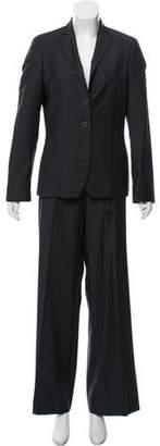 Zanella Wool Mid-Rise Pantsuit