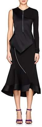Esteban Cortazar Women's Peplum One-Sleeve Dress