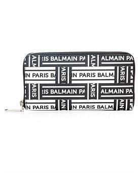 Balmain Logo Ribbon Wallet