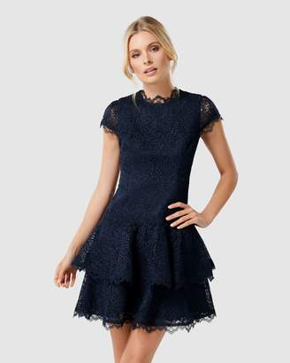 Forever New Camilla Short Sleeve Lace Dress
