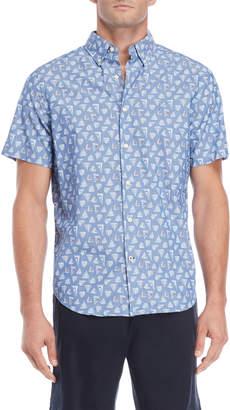 Nautica Sailboats Short Sleeve Shirt