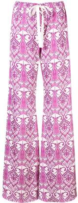 Alexis Odille wide-leg trousers