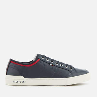 Tommy Hilfiger Men's Core Leather Low Top Trainers - Midnight