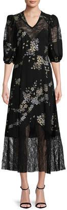 Jill Stuart Gina Floral Dress