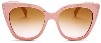 Moschino Women's 005 Cat Eye Sunglasses, 53mm