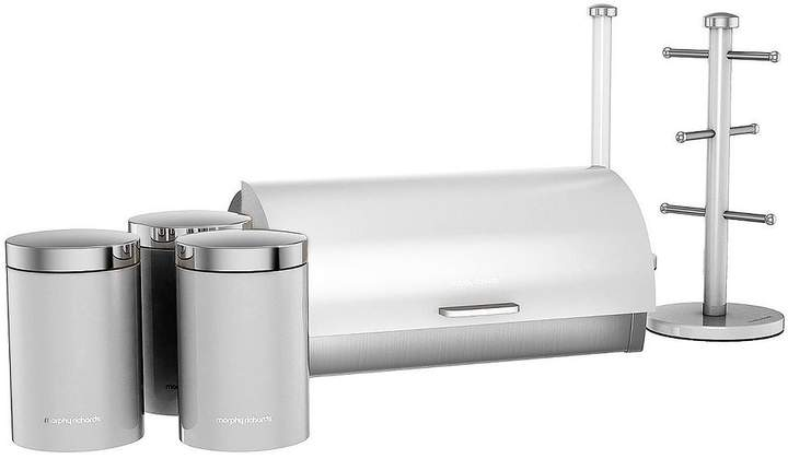 6-Piece Storage Set - Stainless Steel