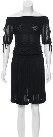 GucciGucci Mesh Midi Dress w/ Tags