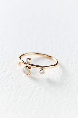 Elizabeth Stone Dotted Gem Ring