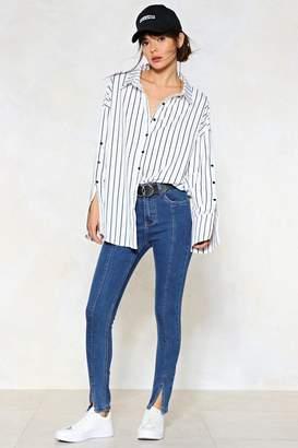 Nasty Gal Seams Good to Me Skinny Jeans