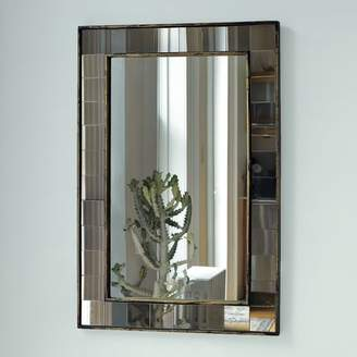 west elm Antique Tiled Wall Mirror