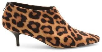 Stella McCartney Leopard-Print Kitten Heel Booties