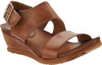Miz Mooz Leather Wedge Sandals - Mariel