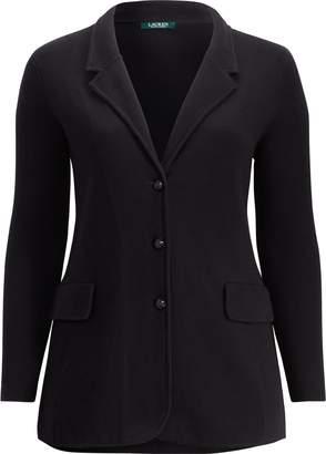 Ralph Lauren 3-Button Cotton Sweater Jacket