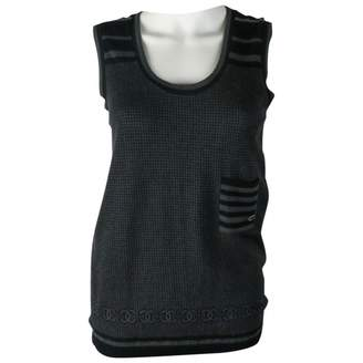Chanel Grey Cashmere Tops