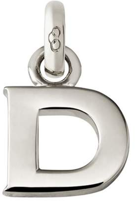 Links of London Sterling Silver Letter D Charm