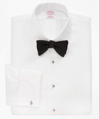 Brooks Brothers Traditional Fit Ten-Pleat Tennis Collar Tuxedo Shirt
