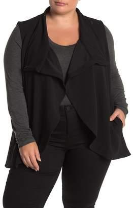 Joe Fresh Crepe Vest (Plus Size)