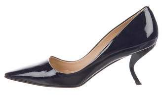 Roger Vivier Pointed-Toe Buckle Pumps