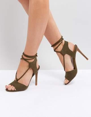 Asos DESIGN TAMSIN Tie Leg Sandals