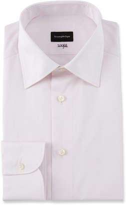 Ermenegildo Zegna Men's Fili Cotton Tonal Check Dress Shirt