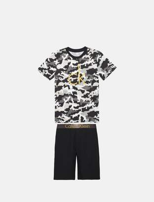 Calvin Klein boys intense power woven pajama set