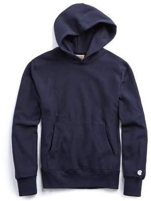 Todd Snyder + Champion Popover Hoodie Sweatshirt in Navy