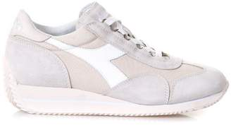 Diadora Heritage Sand Equipe Sneakers In Leather
