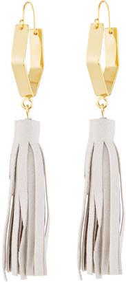 Panacea Suede Tassel Drop Earrings