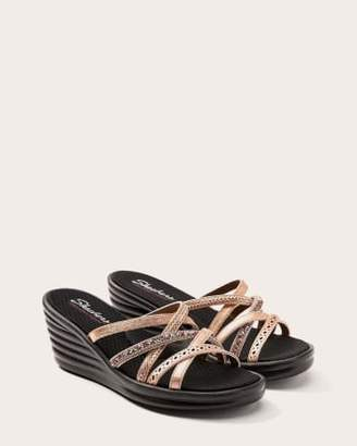 Penningtons Cross Strap Sandals with Rhinestones - Skechers