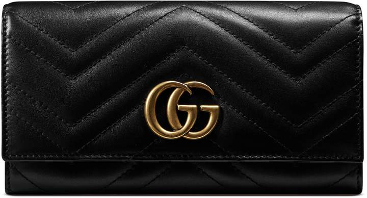 GucciGG Marmont continental wallet