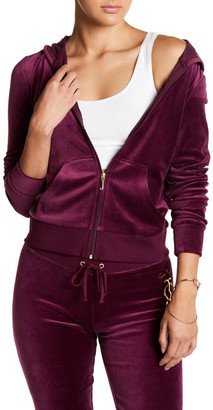 Juicy Couture Frame Cameo Hoodie $44.97 thestylecure.com