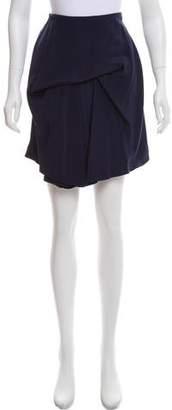 Balenciaga Draped Knee-Length Skirt