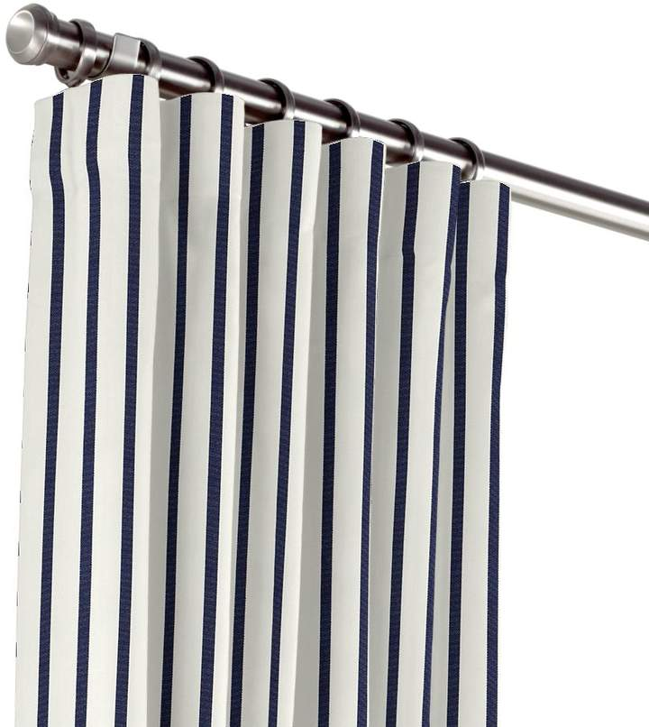 Convertible Outdoor Curtain Sunbrella® Lido - Indigo