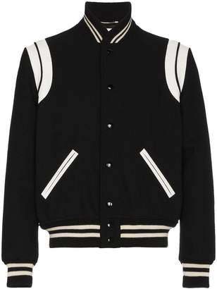 Saint Laurent Classic Teddy Jacket