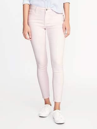 Old Navy Mid-Rise Pop-Color Rockstar Super Skinny Ankle Jeans for Women