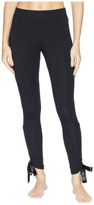 Puma Bow Leggings Women's Casual Pants