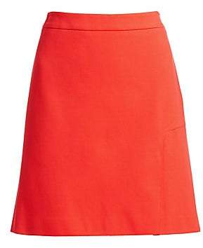 Akris Punto Women's Jersey A-Line Skirt