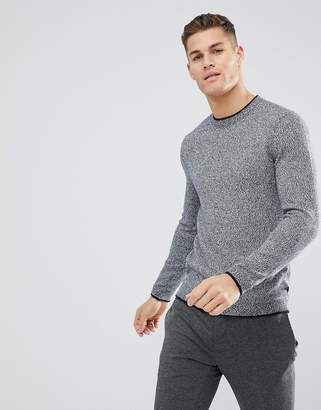 Ted Baker Crew Neck Sweater In Texture