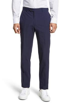 Strong Suit Dagger Flat Front Seersucker Trousers