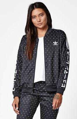adidas x Pharrell Williams HU Race Oversized Track Jacket $90 thestylecure.com