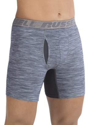 Russell Men's FRESHFORCE All-Day Odor Protection Boxer Brief, 2 Pack