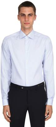 Eton Stretch Cotton Twill Shirt