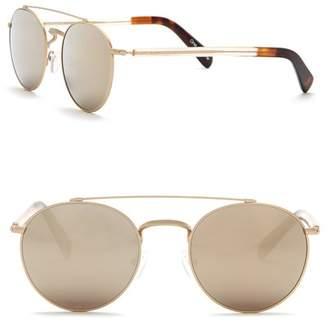 Toms Jarrett 51mm Round Sunglasses
