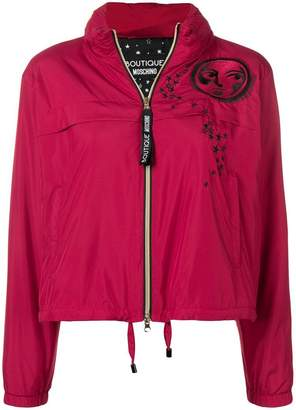 Moschino zip-up moon jacket