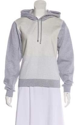 Balenciaga Hooded Knit Sweatshirt