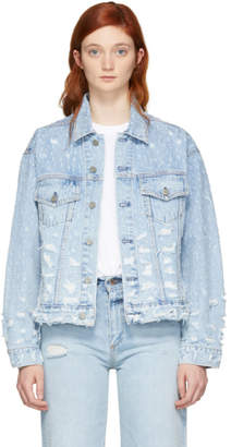 GRLFRND Blue Denim Kim Jacket