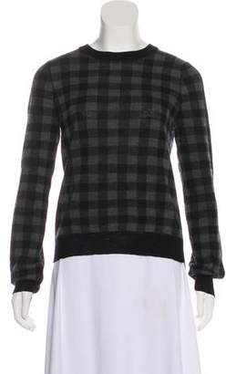 A.L.C. Knit Gingham Sweater