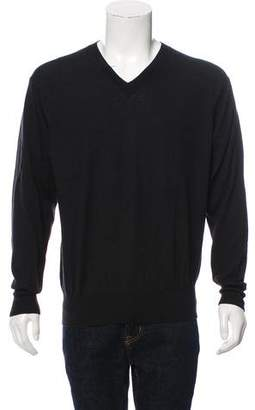 Neiman Marcus Wool & Cashmere Blend Sweater
