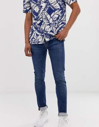 Levi's 519 super skinny fit low rise jeans in revolt advance light wash
